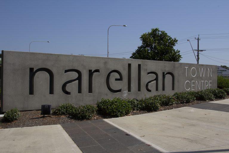 Narellan-Town-Centre-Precast-Signage